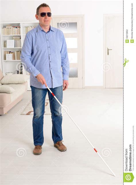 Blind People Stick Blind Man Stock Photo Image 59213852