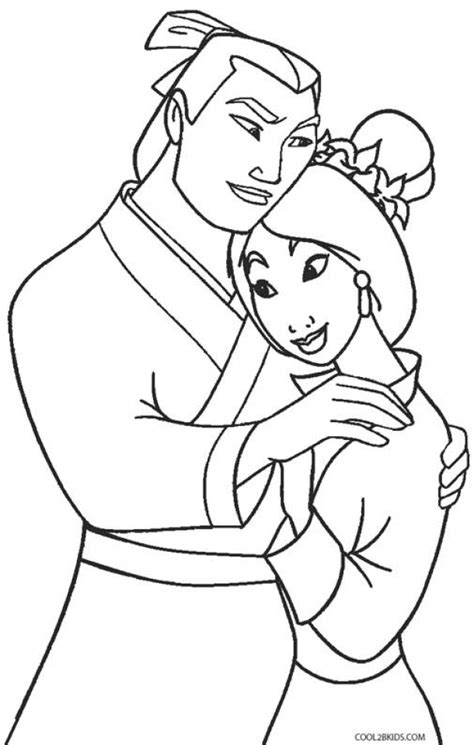 princess mulan coloring page get this disney princess mulan coloring pages 454lz