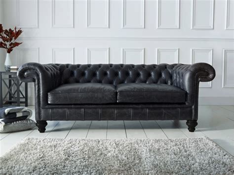 Black Leather Chesterfield Sofa Chesterfield Sofa Black Chesterfield Sofa