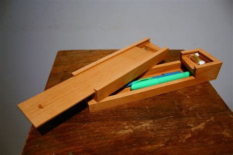wooden pencil holder plans plans to build wood pencil box plan download freeplans