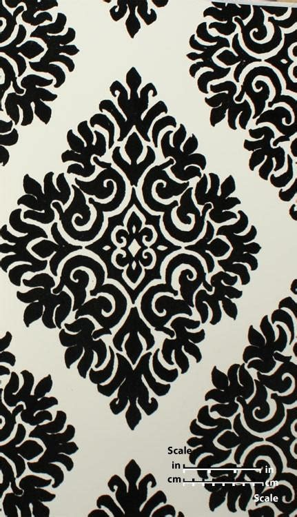 black and white velvet wallpaper french garden damask velvet flocked wallpaper in black and