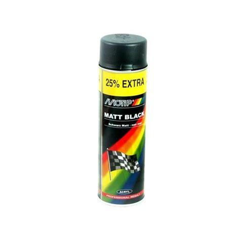 Bombe De Peinture Noir Mat 4293 by Peinture Noir Mat Motip 500ml Motorkit