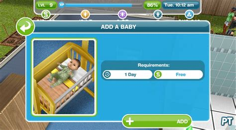 How To Buy A Crib On Sims Freeplay two and a half sims the sims freeplay walkthrough pingu 239 ntech