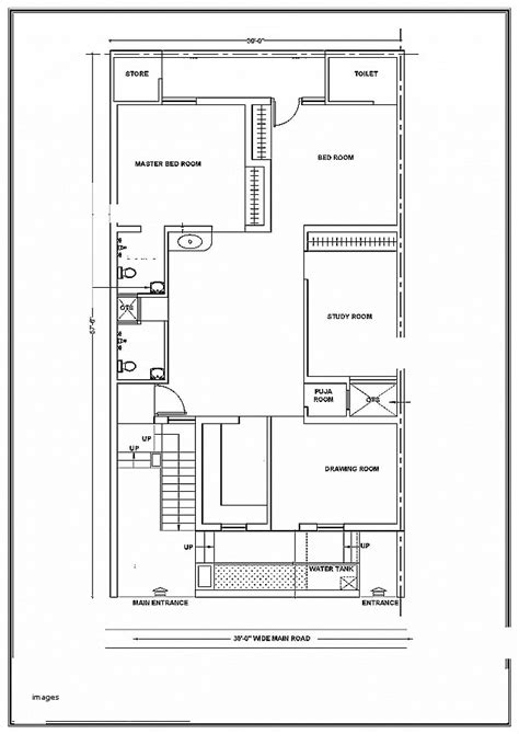 House Plan Luxury Vastu For House Plan Facing North Vastu West Facing House Vastu Plan