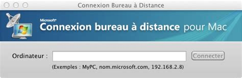 connection bureau a distance mac rdp sur osx les solutions