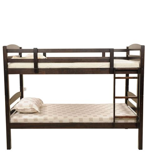 Buy Costa Bunker Bed In Cappucinno Finish By Royal Oak Bunkers Bunk Beds