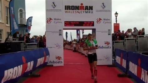 bbc news tenby ironman triathlon competition held