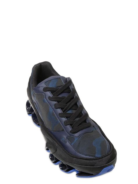 raf simons shoes blue raf simons bounce sneakers in black for lyst