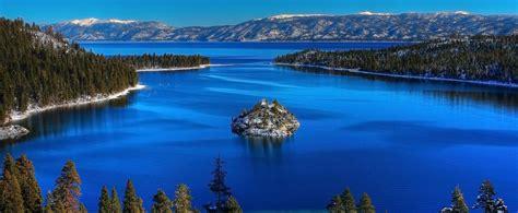 lake blue color less algae gives lake tahoe its blue color