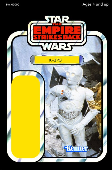 Wars Figure Card Template by Wars Cardback Customs Page