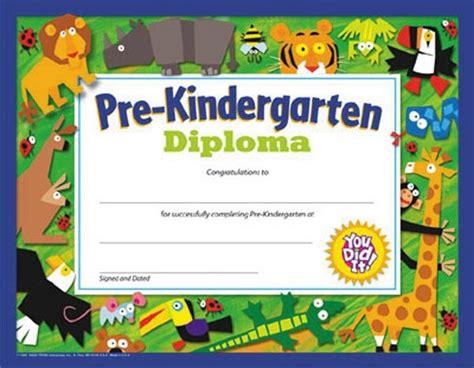 pre k award certificate templates kindergarten diploma certificate pertamini co
