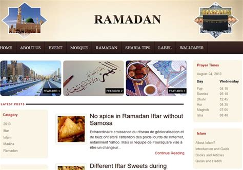 templates para blogger download ramadan blogger template 2014 free download