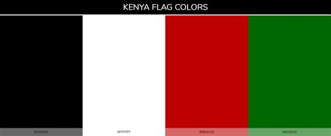 kenya flag colors color schemes of all country flags 187 187 schemecolor