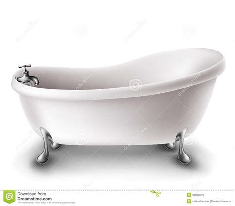 pictures of a bathtub white bathtub stock vector illustration of bathtub iron
