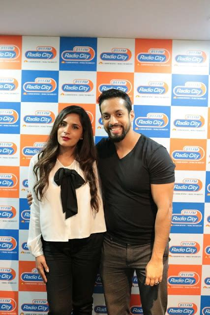 richa chadda residence actress richa chadda at the radio city 91 1fm studio to