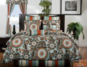 Brown and orange bedding sets racfzl bed and bath