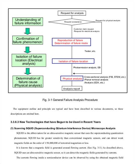 failure analysis report template sle failure analysis report 28 images failure