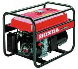 Used Honda Generator Quality Power Review Tentang Generator Buatan Honda