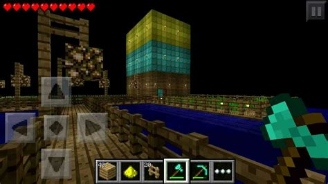 house made of gold house made of and gold gold and house in minecraft pe 0 6 1 alpha