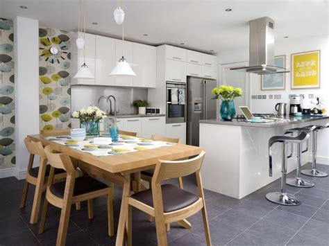 small open plan kitchen designs cocinas abiertas bricodecoracion com