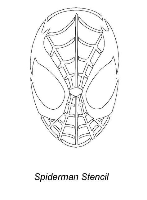printable iron man pumpkin stencil image gallery spider man stencil