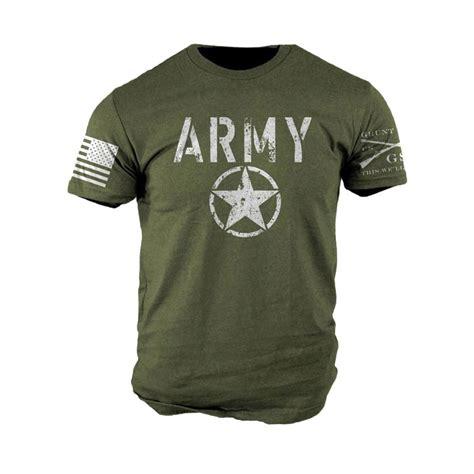 Kaosbajut Shirt Navy Militer Army grunt style army t shirt