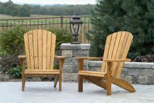 Wood Patio Chairs Amish Pine Wood Fan Back Garden Chair