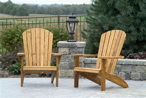 Amish Pine Wood Fan Back Chair From Dutchcrafters Amish Outdoor Pine Furniture