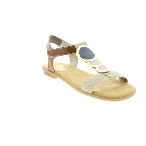 reiker sandals rieker rieker 64278 60 beige sandal rieker from rieker uk