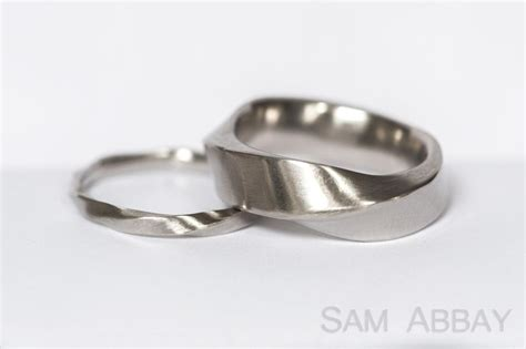 Wedding Rings Bands by Twisted Bands New York Wedding Ring