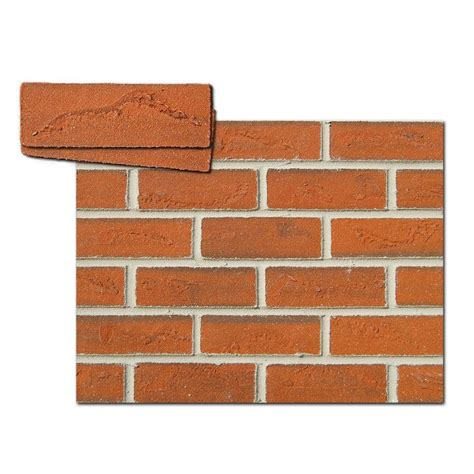 shop flexi brick 11 5 in brick veneer at lowes com