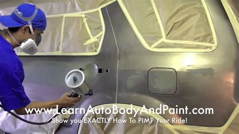 how to spray paint a car at home yourself affordable diy