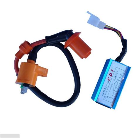 Green Cdi Ignition Coil For Pit Dirt Bike For 50cc 90cc 110cc 125cc 15 new racing cdi unit ignition coil 110cc 125cc 140cc pit dirt bike atv ta in motorbike