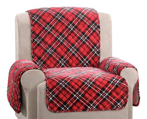 plaid recliner top 10 best christmas chair covers 2017 heavy com