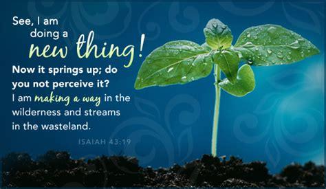 braut christi bibelstellen god is doing something new