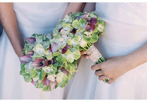 light pink and ivory wedding bouquets and whimsical pink light green and ivory