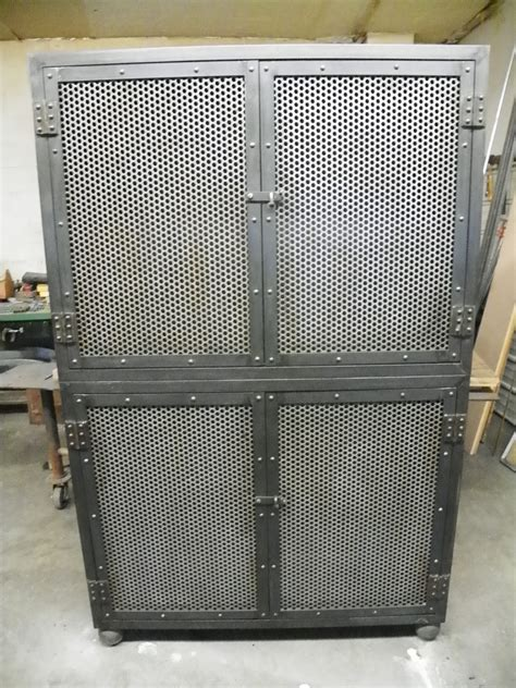 Industrial Cabinet by Industrial Steel Cabinet Tv Component Friendly Various