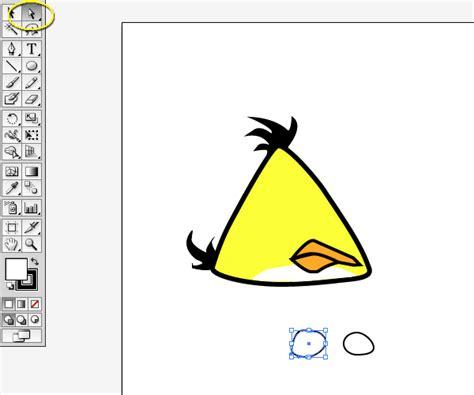 tutorial illustrator bird angry bird illustrator tutorial