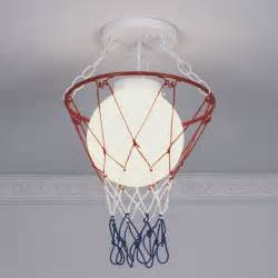 basketball and net ceiling light shades of light