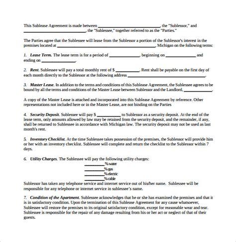 sublease agreement template australia 100 subletting agreement template rent and lease