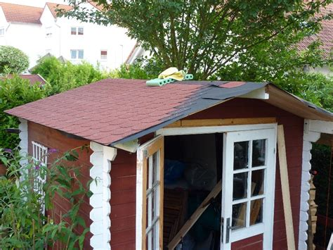 Gartenhaus Dach Erneuern Material gartenhaus dach erneuern material my