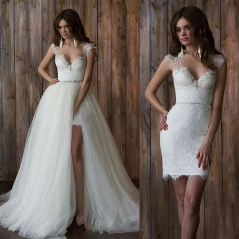 Wedding Dress With Detachable Skirt by 17 Coolest Variants Of Wedding Dresses The Best