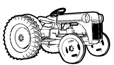 farm tractor coloring pages sketch coloring page