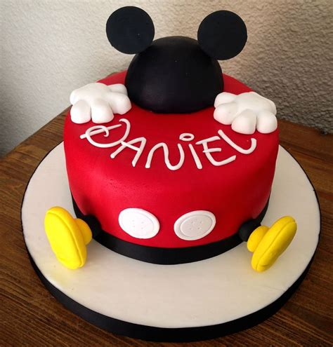ideas  mickey mouse birthday cake