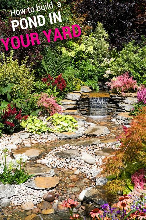 how to make a pond in your backyard 1000 images about garden ponds on pinterest backyard
