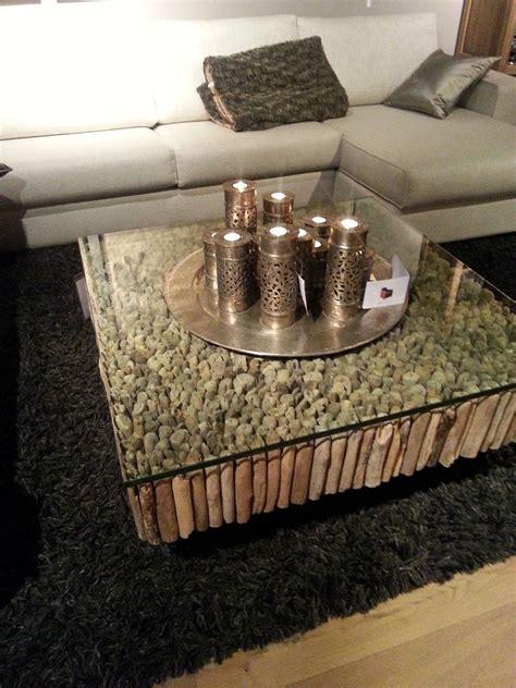 drijfhout salontafel salontafel met glasplaat en takken stoer en landelijk