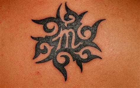 virgo tribal tattoo virgo tattoos designs ideas and meaning tattoos for you