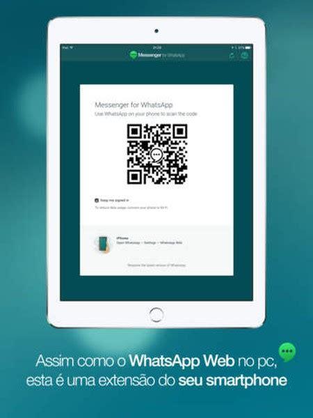 tutorial de como instalar whatsapp no ipad messenger para whatsapp download techtudo