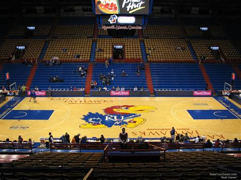what is section 17 allen fieldhouse section 17 rateyourseats com
