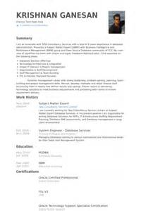 subject matter expert resume sles visualcv resume sles database bpo resume template 22 free sles exles format download free premium templates